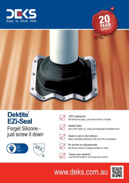 DEKS Dektile<sup>®</sup> EZi-Seal™